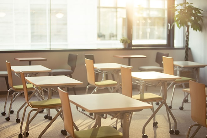 セミナーを開催する教室のイメージ